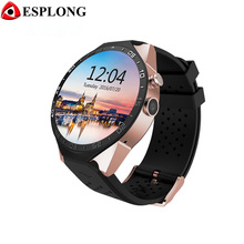 JRGK KW88 Bluetooth 4.0 Smart Watch Android 5.1 MTK6580 Wifi Smartwatch 3G GPS Watch Phone with 2.0MP Camera PK GT08 K88H DZ09