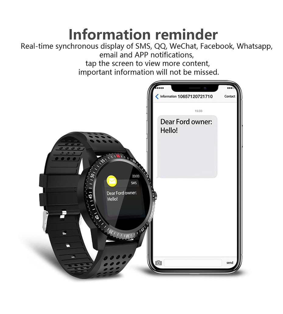 COLMI Smartwatch IP67 Waterproof Wearable Device Heart Rate Monitor Color Display Smart Watch For Android IOS_12