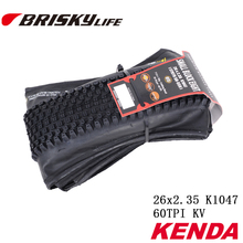Free shipping Kenda high quality mountain bikes 26 inch folding tires for MTB