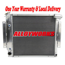 Fast delivery High Capacity Racing parts 3 CORE ALUMINUM RACING RADIATOR FOR CHEVROLET CHEVY CORVETTE V8 77-82 78 79 80 81