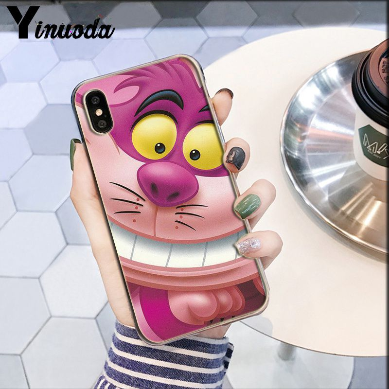 Cheshire Cat We are ALL IN Purple and Pink