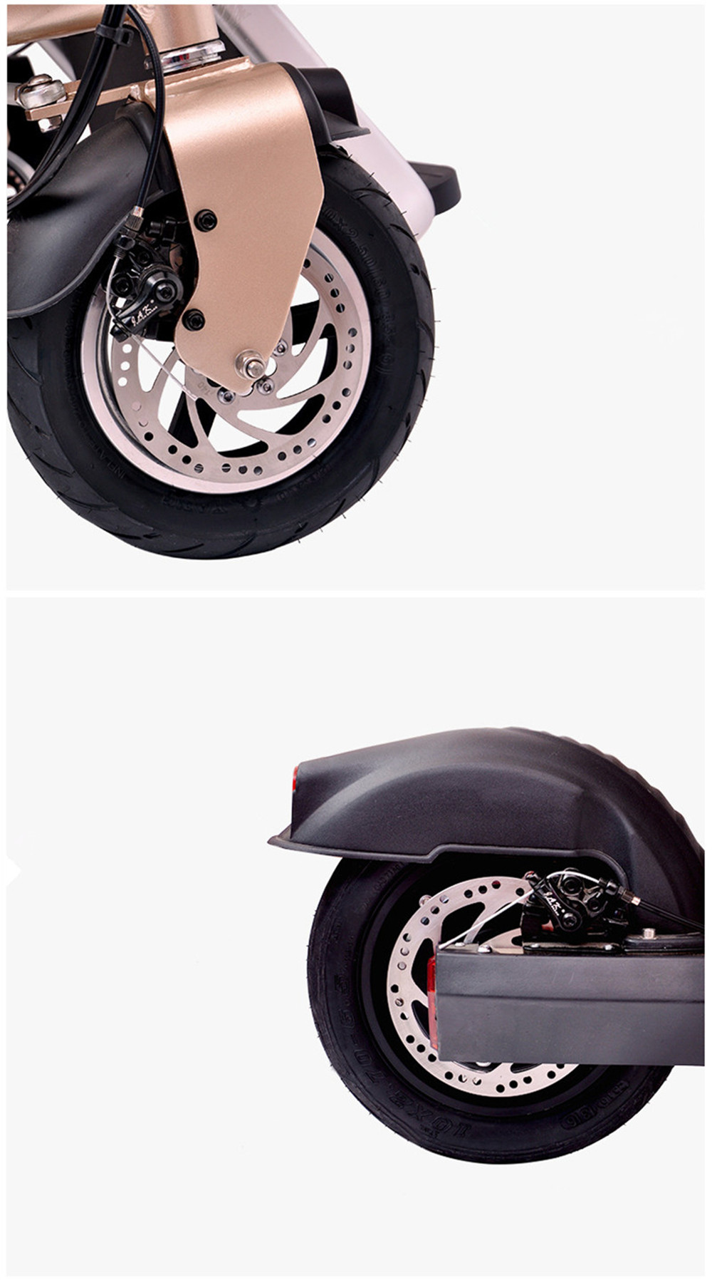 12 Inch Aluminum Alloy Removable Load 160kg Mini 36V 12Ah Electric Family Bicycle Pram Mother and Child Car Stroller11