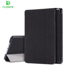 FLOVEME Case For iPad Mini 1 2 3 Fold Stand Holder Cases For iPad Mini 1 2 3 Flip Leather Shockproof Case Tablet Accessories