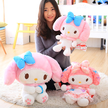 2017 Pink Kitty Plush Doll My Melody Cute Rabbit Stuffed Toys Doll Kid's Birthday Gift