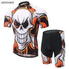 XINTOWN Men's Cycling Jersey Sets With Bib Bike Team Outdoor Sportswear Ropa Ciclismo Bicycle Cycling Clothing S-4XL CC0318(China)