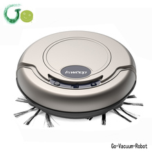 Lithium Battery Smart light vacuum cleaner robot Dry mop cleaner for home,office,hotel cleaning machine home application(China)