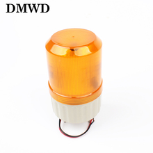 LTE-1081 AC 110V DC 12V 24V LED Rotating Industrial Signal Tower Warning Light buzzer sound Red Yellow Blue Green S-80