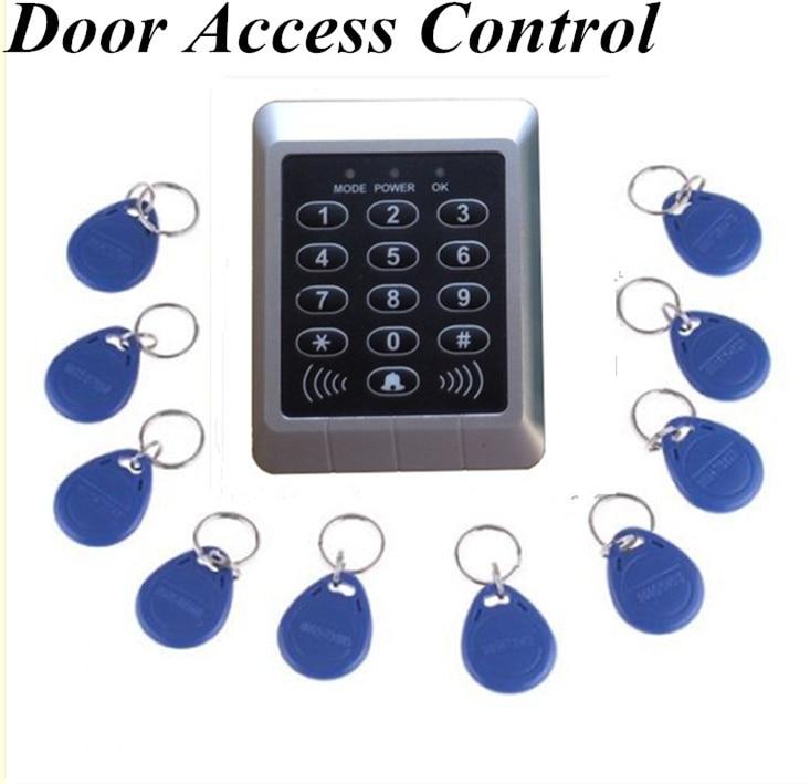 New Arrival RFID Reader &amp; Keypad Door Access Control Waterproof  Keypad Case +10 keys<br><br>Aliexpress