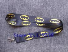 Retail 1 pcs Superhero Batman  Straps Lanyard  ID Badge Holders Mobile Neck Keychains For Party Gift R-08