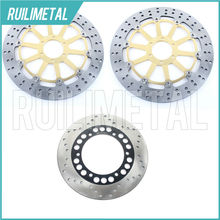 Front Rear Brake Discs Rotors for DUCATI 888 Desmo Quattro SP4 SP5 SPO SPS SPV Super Bike Strada 94 95 900 Monster 96 97 98 99