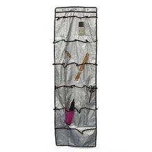 HGHO-100% Good 22 Pockets Over Wall Door Hanging Bag Shoe Rack Storage Organizer Holder(China)