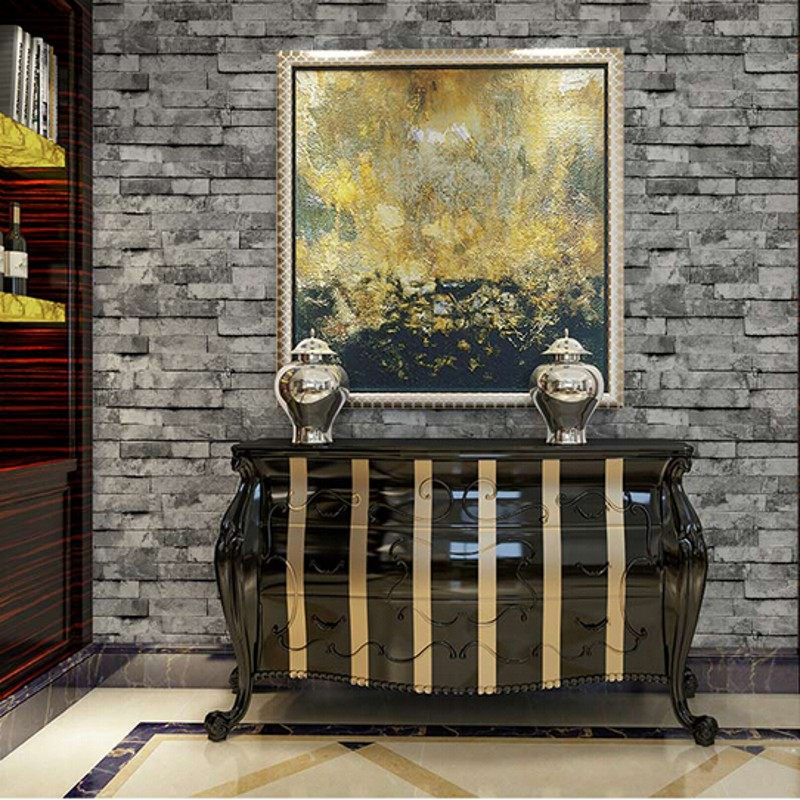 beibehang wallpaper Chinese vintage style wallpaper popular wood brick stone designs wall paper home decoration papel de parede<br>