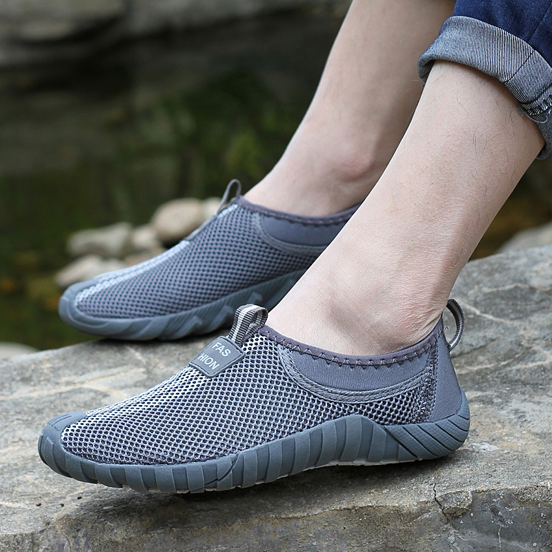 Casual Shoes Men 2017 Mesh Summer Style Solid Man Flats Loafers Breathable Slip-on Water Shoes Size Plus 35-44 Shoes Men Breatha<br><br>Aliexpress