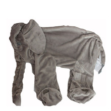 40 cm Colorful Giant  Elephant Skin Plush Soft Toy Stuffed Baby Kids  baby Pillows without stuffed