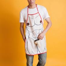 New Arrivals Style Sexy Funny 3D Penis Cooking Kitchen Apron Man Sexy Dinner Party Apron Gift 1 pcs Dropshipping