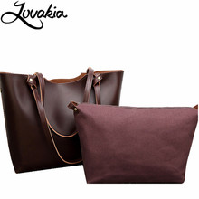 LOVAKIA vintage ladies hand bag women's up leather handbag black leather tote bag bolsas femininas female shoulder bag(China)