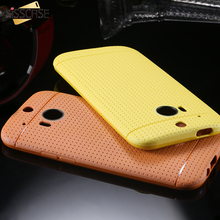 KISSCASE Ultra Slim Light Soft Back Case For HTC One M8 Shockproof Silicon Phone Cover For HTC One M8 Cases Shell M8 Accessaries