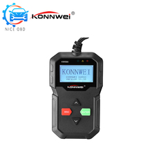 KONNWEI KW590 OBD II Code Reader Support Online Update Printing Data via USB language Dutch English French German Spanish(China)