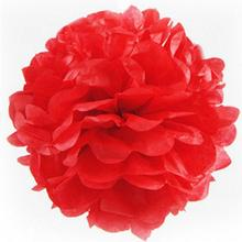 10pc Mix 6 inch Circle Garland &Tissue Pom Poms Paper Flower Balls Hanging Decor Showers Party Birthday Wedding