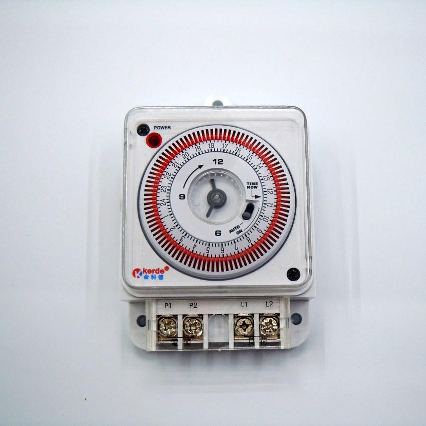 Kede tid-03j 16a guide rail mechanical timer socket timer switch 220V AC 16A 3520W<br><br>Aliexpress