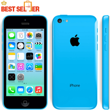 "Hot Sale Unlocked Original Apple Iphone 5C Cellphone 4.0"" Dual Core 8MP Camera IOS WIFI GPS Used mobile phone Multi-language"