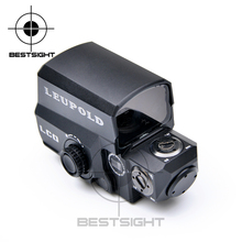 Dropshipping LEUPOLD LCO Tactical Red Dot Sight Rifle Scope Hunting Scopes Reflex Sight With 20mm Rail Mount Holographic Sight(China)
