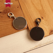 2pcs/lot wholesale good quality metal round cat dog id tag blank engrave pet name 2 kinds cat ID tag smooth surface Dog ID tag(China)