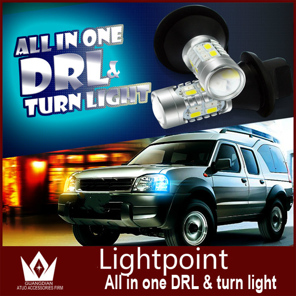 Guang Dian car led light Daytime Running Light With Turn Signal light lamp drl BAU15S PY21W 1156 For Renault Duster<br><br>Aliexpress