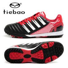 TIEBAO 2017 Professional TF Turf Rubber Soles Football Shoes Outdoor Soccer Shoes Top Quality Sneakers Free Shipping