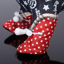 Dog Pet Cat Puppy Shoes Anti-slip Waterproof Protective Special Boots Shoes 4PC Free shipping