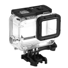 Buy 45m Waterproof Case Gopro Hero 5 Black Edition Case Mount Protective Housing Cover Gopro HERO5 Accessories for $10.08 in AliExpress store