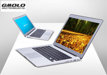 GMOLO Core I3 5005U ulttrabook laptop with Backlit keyboard 1920*1080 HD screen 4GB &128GB SSD aluminium notebook computer