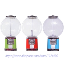 High Quality Small Coin Operated Capsules Gumball Toy Balls Vending Machine(China)