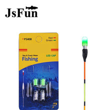 1Pack Electronic Fishing Fluorescent Lightstick Light Night Float Rod Lights Dark Glow Stick Battery CR311 Electronic Float L151(China)