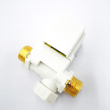 "G1/2""  DC12V Tee type Solar solenoid valve  pilot type  NC Controll the Solar water heater DN15 External screw thread"