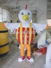 export high quality ball body chick mascot costumes