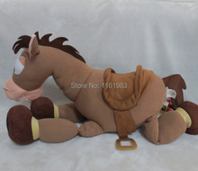 Bullseye Plush - Toy Story Plush Toys Super Big 60cm Bullseye the Horse