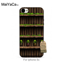 MaiYaCa soft black tpu silicone Botanic garden in chest wood High Quality phone Accessories cover For iPhone se 5c 6s 7 plus(China)