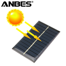 Solar Panel 5V 6V 12V Mini Solar System DIY For Battery Cell Phone Chargers Portable Solar Cell 0.15W 0.6W 1W 1.25W 1.5W(China)