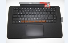 Laptop Bluetooth Keyboard base for HP for ENVY x2 13-j000 13-j099 with backlit and TouchPad US/GR Germany 796693-041 796693-001(China)