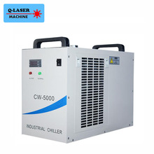 Industrial Laser Cooled Chiller CW-5000AG for 80W 100W CO2 laser tube