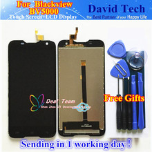 High Quality LCD Display + Touch Digitizer Screen Glass Assembly Replacement For Blackview BV5000 Free Shipping