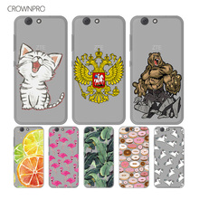 CROWNPRO ZTE Z10 Z 10 Soft TPU Case FOR ZTE Blade A512 A506 Cover Silicone Colorful Print Back FOR ZTE Z10 Phone Protective Case