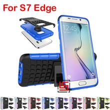 Armor Rugged Hybrid Hard PC TPU ShockProof Phone Mobil Case capinha Cover Cove Bag For Samsung Samsuns Sumsung Galaxy S7 Edge(China)