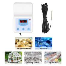 Buy AC110-240V 10A Thermoregulator Digital thermometer LED Water Temperature Controller Thermocouple Thermostat Aquaculture + for $10.64 in AliExpress store