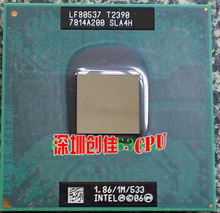 original intel Pentium Dual Core T2390 1.86GHz Notebook processors Laptop CPU Socket P 478 pin Computer Original(China)