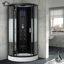 90cm shower cabin bath douche cabine Shower WITH Steam Cubicle Bathroom Quadrant Enclosure Bath Cabin Room Jetted Massage 137
