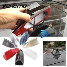 Vehemo Auto Car Roof Shark Fin Special Radio AM FM Signal Aerial Antenna Decor Parts For BMW Benz Audi Nissan Honda VW Ford