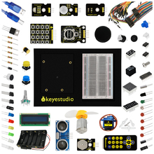 Buy Keyestudio Updated Maker Learning Kit/Starter Kit (no UNO board) Arduino Education Starter /with 1602 LCD+Servo+LEDs+PDF for $40.00 in AliExpress store