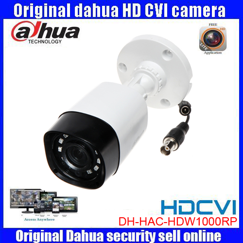 HD720p Dahua HDCVI Camera 1MP DH-HAC-HFW1000R HDCVI IR Bullet Security Camera CCTV IR distance 20m HAC-HFW1000R<br>